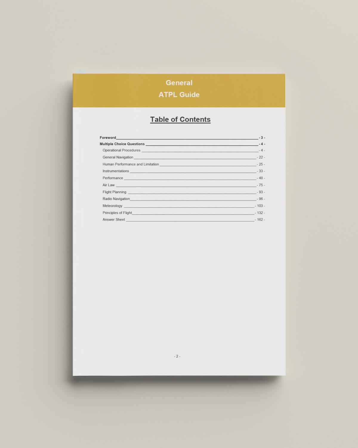 AirlineAssessment General ATPL Guide Teaser 1
